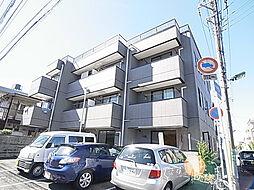 千葉県松戸市竹ケ花西町の賃貸マンションの外観