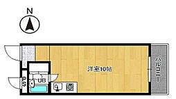 プレアール小戸[5階]の間取り