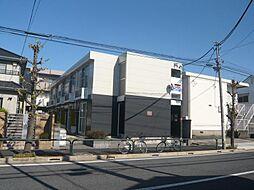 東京都足立区鹿浜5丁目の賃貸マンションの外観