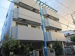大阪府大阪市東住吉区東田辺3の賃貸マンションの外観
