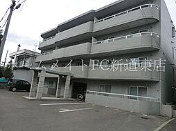 北海道札幌市東区北三十条東7丁目の賃貸マンションの外観