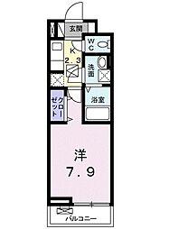 ラフィーネIII[103号室]の間取り