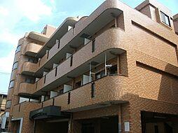 神奈川県川崎市中原区上新城2の賃貸マンションの外観