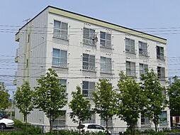 北海道札幌市清田区北野二条3丁目の賃貸マンションの外観