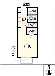リベラシオンII[1階]の間取り