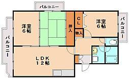 レジデンス渡邊2[2階]の間取り