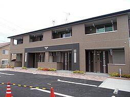 京都府長岡京市奥海印寺谷田の賃貸アパートの外観