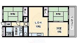 第5吉川コーポ 2階3LDKの間取り