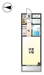 グランドハイネス御成[6階]の間取り