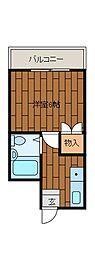 ピュアブラッサム[2階]の間取り