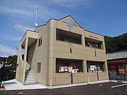 福岡県遠賀郡水巻町古賀3丁目の賃貸アパートの外観