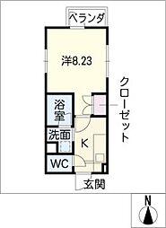 タウンライフ藤ヶ丘東[1階]の間取り