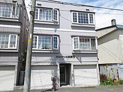 北海道札幌市北区北二十六条西7丁目の賃貸アパートの外観