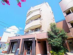 埼玉県新座市東北2-の賃貸マンションの外観