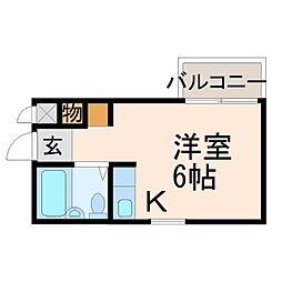 ダイドーメゾン門戸II[1階]の間取り