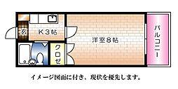 エステート平成--[304号室]の間取り