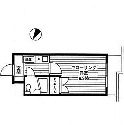 エルスタンザ相模大野[3階]の間取り