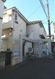 埼玉県草加市旭町2丁目の賃貸アパートの外観
