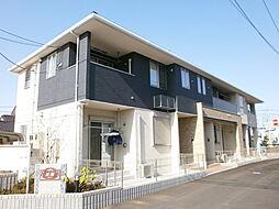 埼玉県所沢市北中1丁目の賃貸アパートの外観