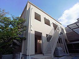 大阪府四條畷市南野2丁目の賃貸アパートの外観