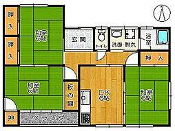 小池アパート[2F-西号室]の間取り