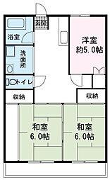 須田マンション[0301号室]の間取り
