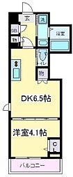 Osaka Metro御堂筋線 あびこ駅 徒歩8分の賃貸マンション 7階1DKの間取り