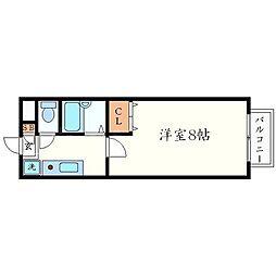 プレインズハウス[2階]の間取り