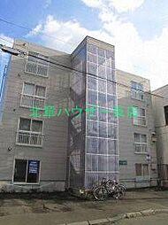 北海道札幌市東区北十三条東14の賃貸マンションの外観
