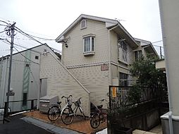 東京都世田谷区三宿1丁目の賃貸アパートの外観