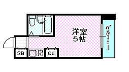 アルピーヌ旭[3階]の間取り