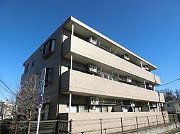 東京都府中市緑町2丁目の賃貸マンションの外観