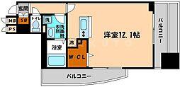 エスティメゾン京橋[6階]の間取り