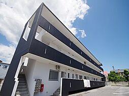 栃木県宇都宮市松原2の賃貸マンションの外観