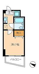 PLENDY松戸[6階]の間取り