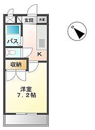 プロニティR&S[1階]の間取り
