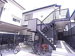 兵庫県神戸市灘区篠原南町2丁目の賃貸アパートの外観