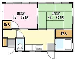 [一戸建] 東京都稲城市東長沼 の賃貸【/】の間取り