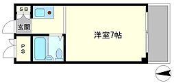 新大阪ハイグレードコーポ[5階]の間取り