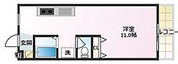 東光園マンション[3階]の間取り