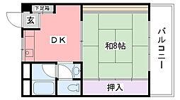 曙コーポ[305号室]の間取り