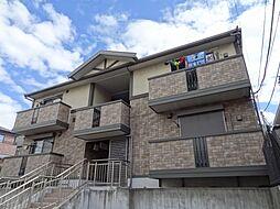 千葉県千葉市稲毛区黒砂4丁目の賃貸アパートの外観