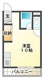 サントピア島田[202号室号室]の間取り
