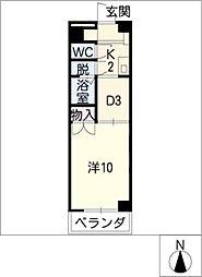 ロイヤル江戸橋[3階]の間取り