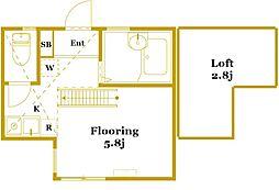 G・Aヒルズ白楽II[2階]の間取り