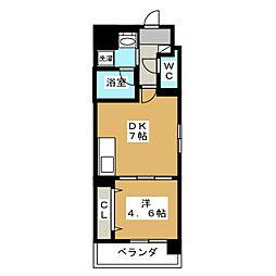 サン・レスポワール十条[5階]の間取り