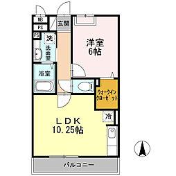 瀬谷区宮沢1丁目 ソレイユB305号室[305号室]の間取り