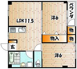 NISHIKI.138[1階]の間取り