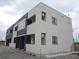埼玉県さいたま市岩槻区大字尾ケ崎新田の賃貸アパートの外観