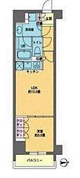 カスタリア東日本橋[13階]の間取り